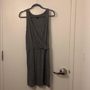 Grey flow comfy dress from banana republic